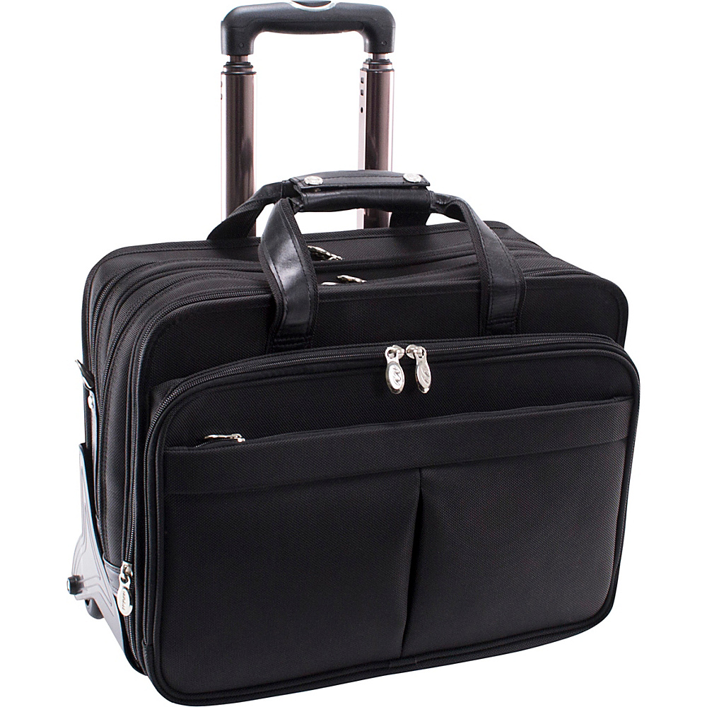 McKlein USA Roosevelt Nylon Detachable Wheeled 17 - Work Bags & Briefcases, Wheeled Business Cases