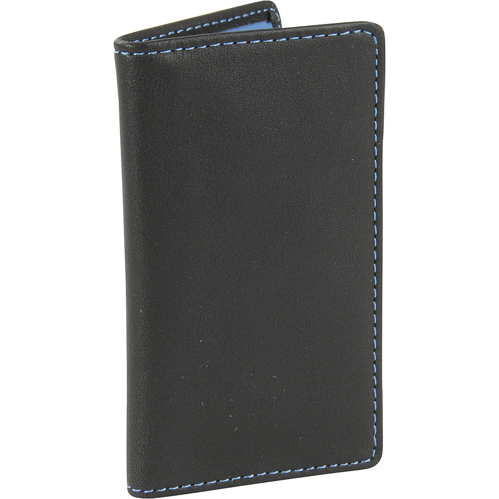Royce Leather Deluxe Card Holder-Metro Collection Royce Blue - Royce Leather Business Accessories - Work Bags & Briefcases, Business Accessories