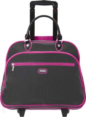 baggallini Rolling 17 inch Tote Charcoal - baggallini Softside Carry-On