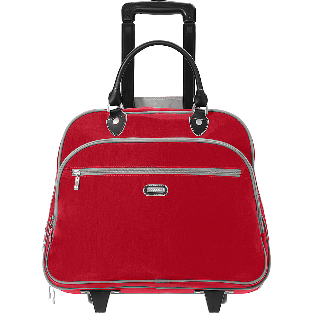 "baggallini Rolling 17"" Tote Apple - baggallini Softside Carry-On"