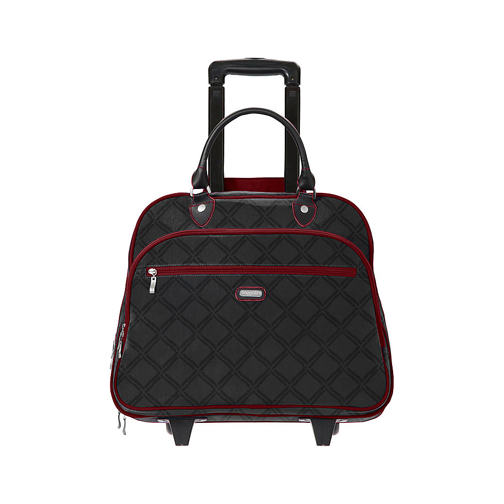 baggallini Rolling 17 Tote Charcoal Link - baggallini Softside Carry-On - Luggage, Softside Carry-On