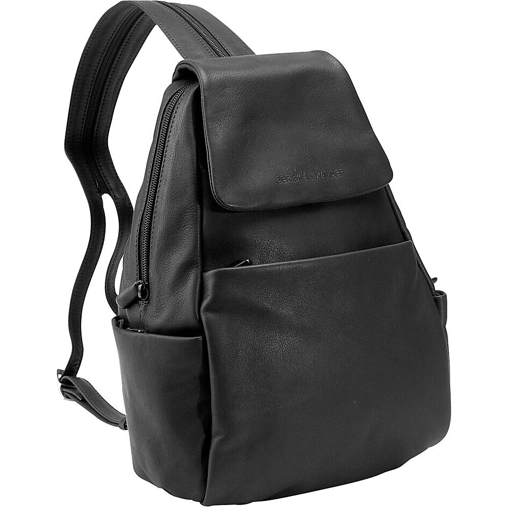 Derek Alexander Sling/Backpack - Black - Handbags, Leather Handbags