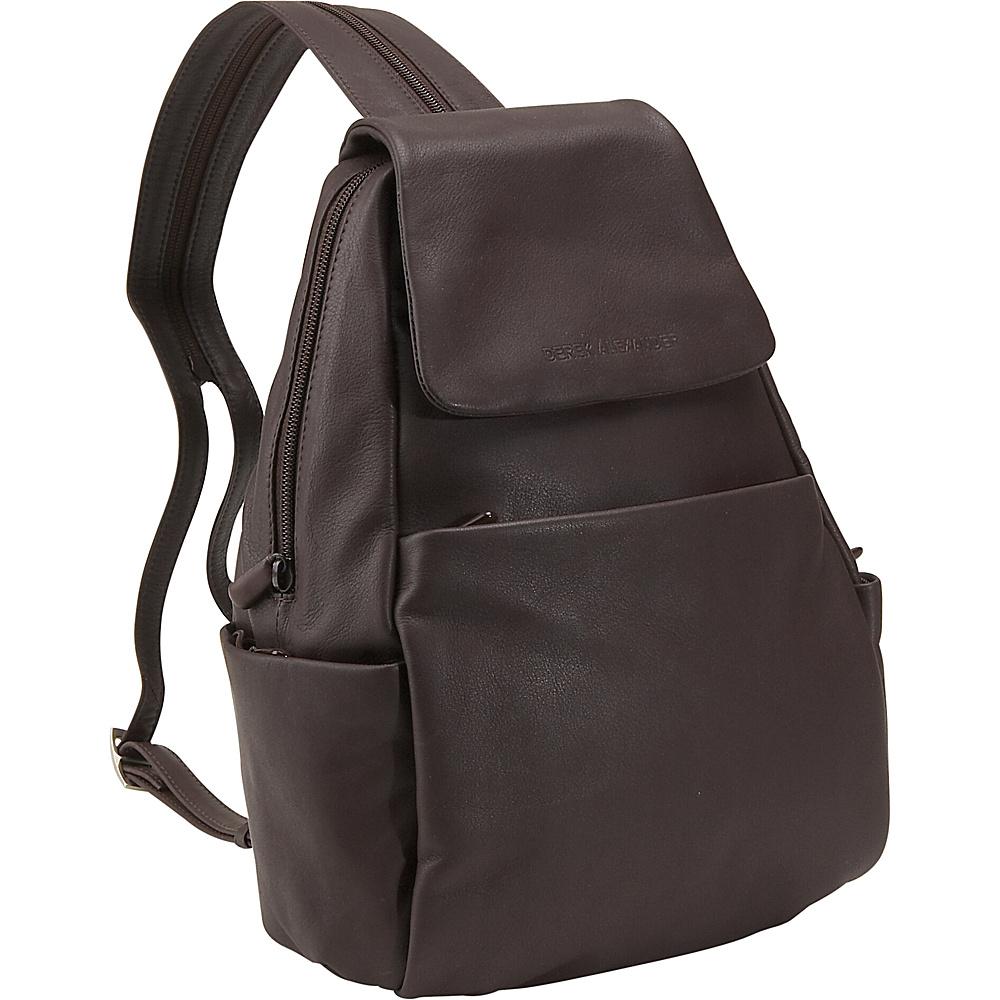 Derek Alexander Sling/Backpack - Brown - Handbags, Leather Handbags