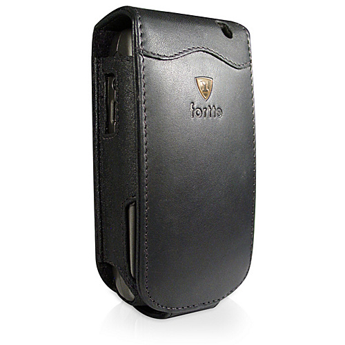 Fortte BlackBerry 7130e Flip Style Leather PDA Case