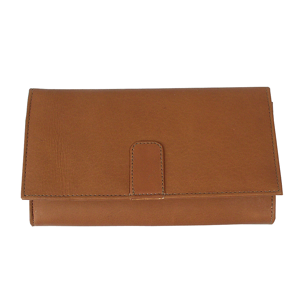 Piel Deluxe Ladies Wallet - Saddle - Women's SLG, Women's Wallets