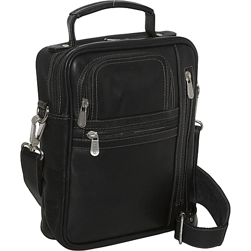 Piel Radio/Video/Camera Bag - Black