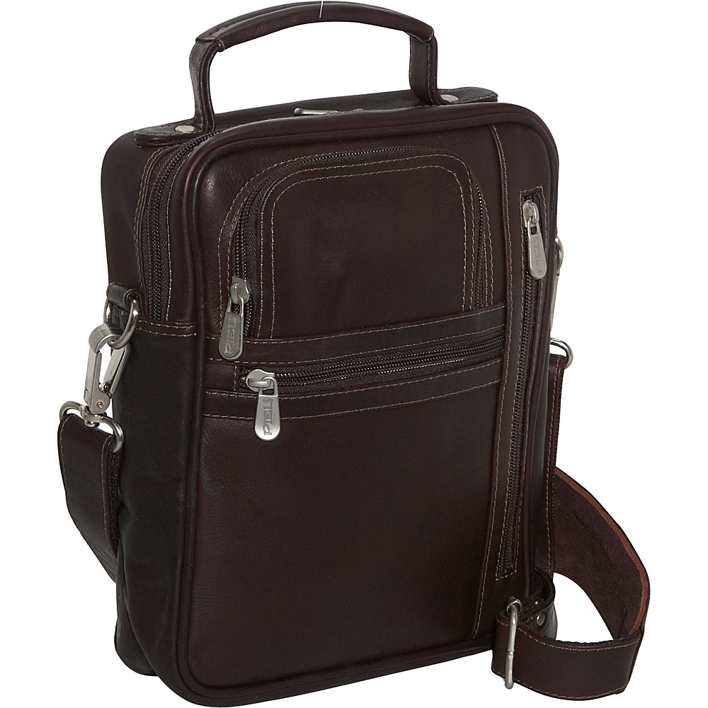 Piel Radio/Video/Camera Bag - Chocolate