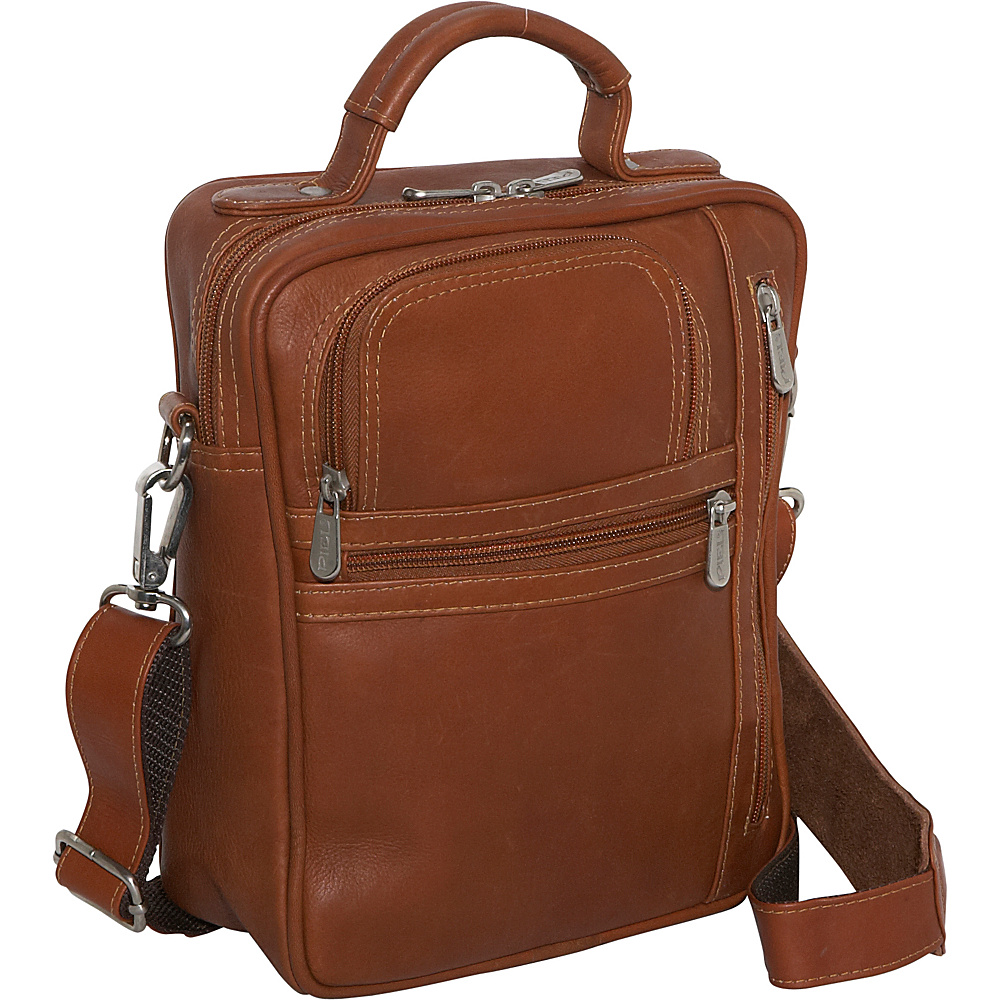Piel Radio/Video/Camera Bag - Saddle