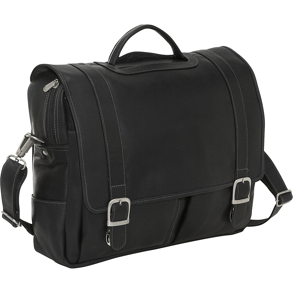 Piel Ultimate Organized Portfolio - Black - Work Bags & Briefcases, Non-Wheeled Business Cases