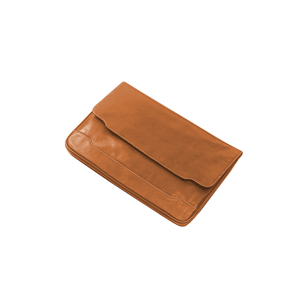 Clava Tuscan Leather Document Folio - Tuscan Tan - Work Bags & Briefcases, Business Accessories