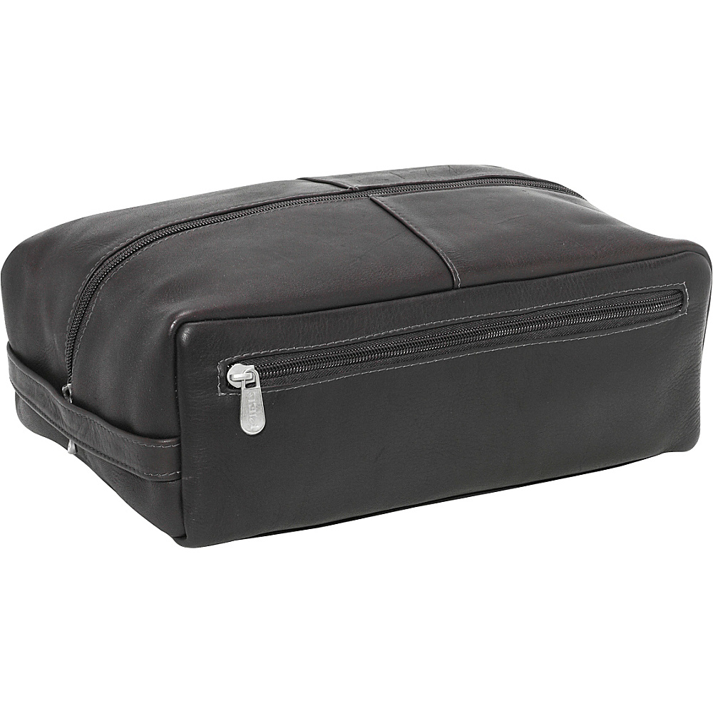Piel Deluxe Shoe Bag - Black - Travel Accessories, Travel Organizers