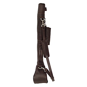 Driving Range Golf Caddy Chocolate
