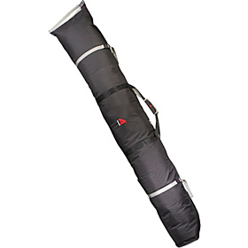 Double Ski Bag - Padded - 180cm Black