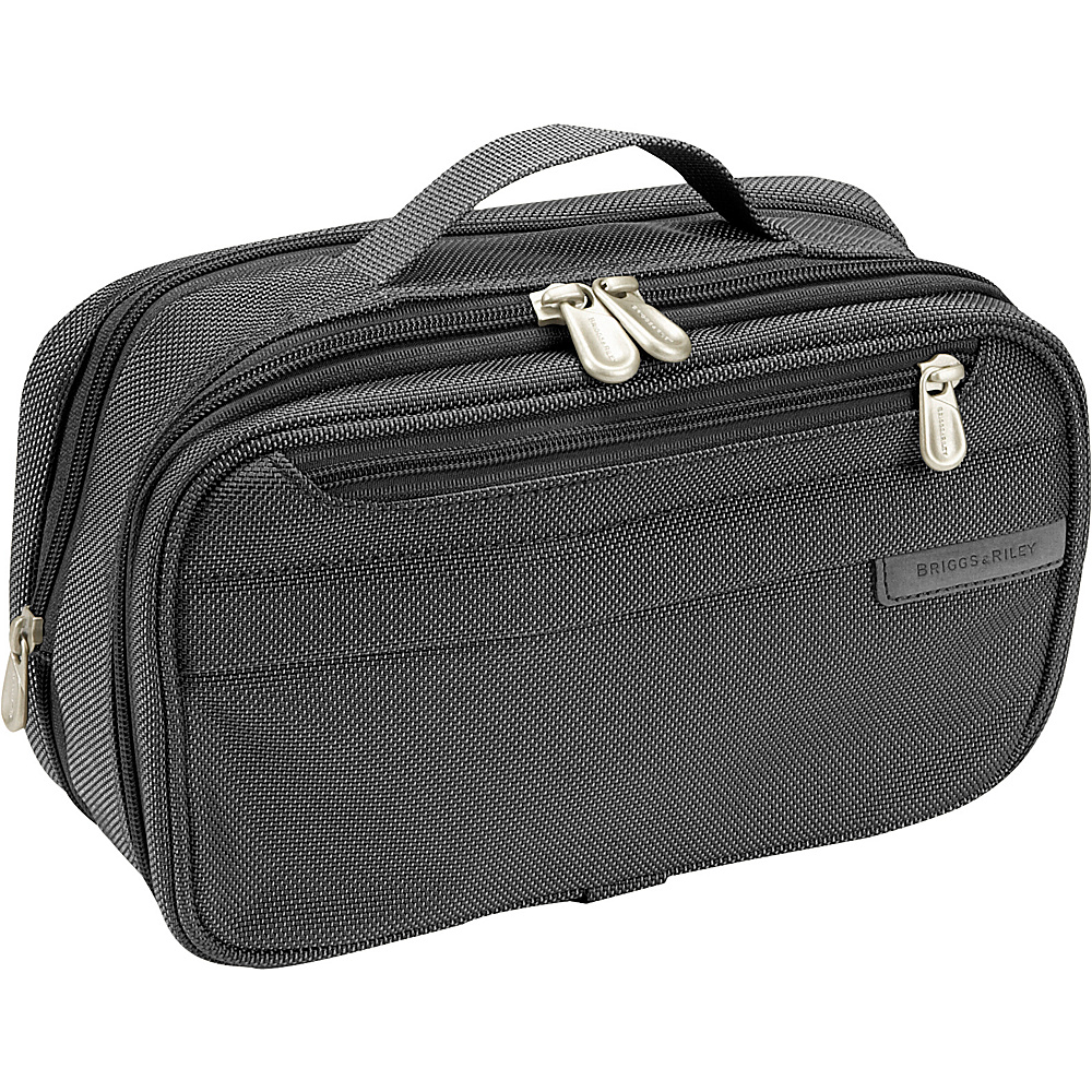 Briggs & Riley Baseline Expandable Toiletry Kit - Black - Travel Accessories, Toiletry Kits