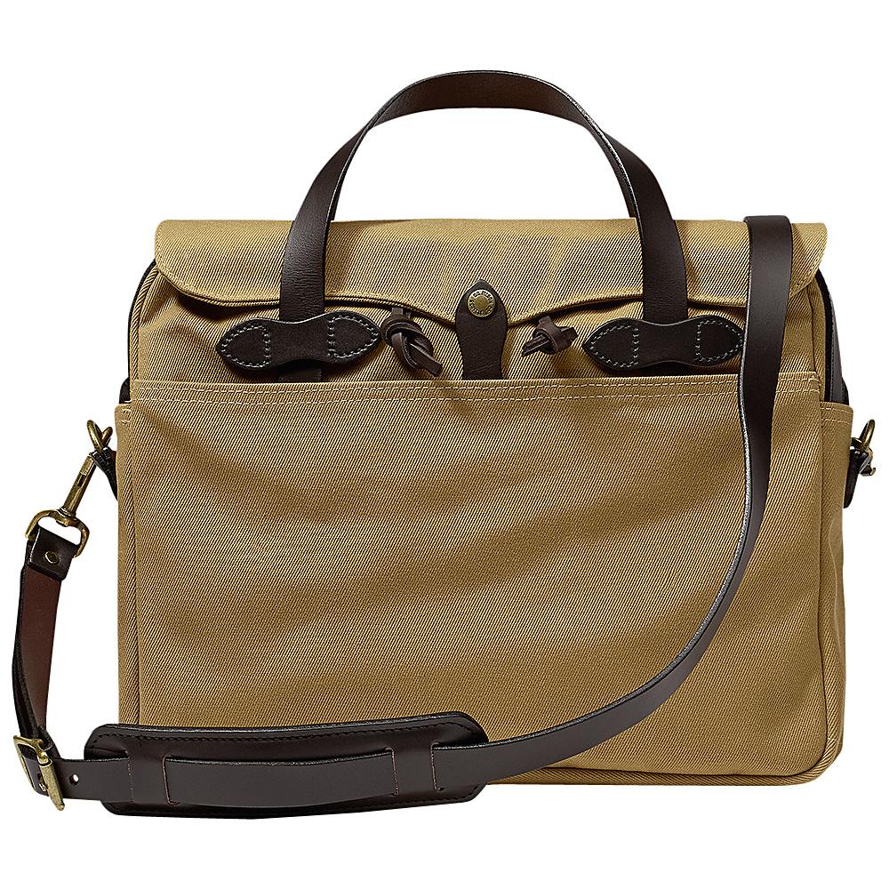 Filson Original Briefcase Tan - Filson Non-Wheeled Business Cases - Work Bags & Briefcases, Non-Wheeled Business Cases