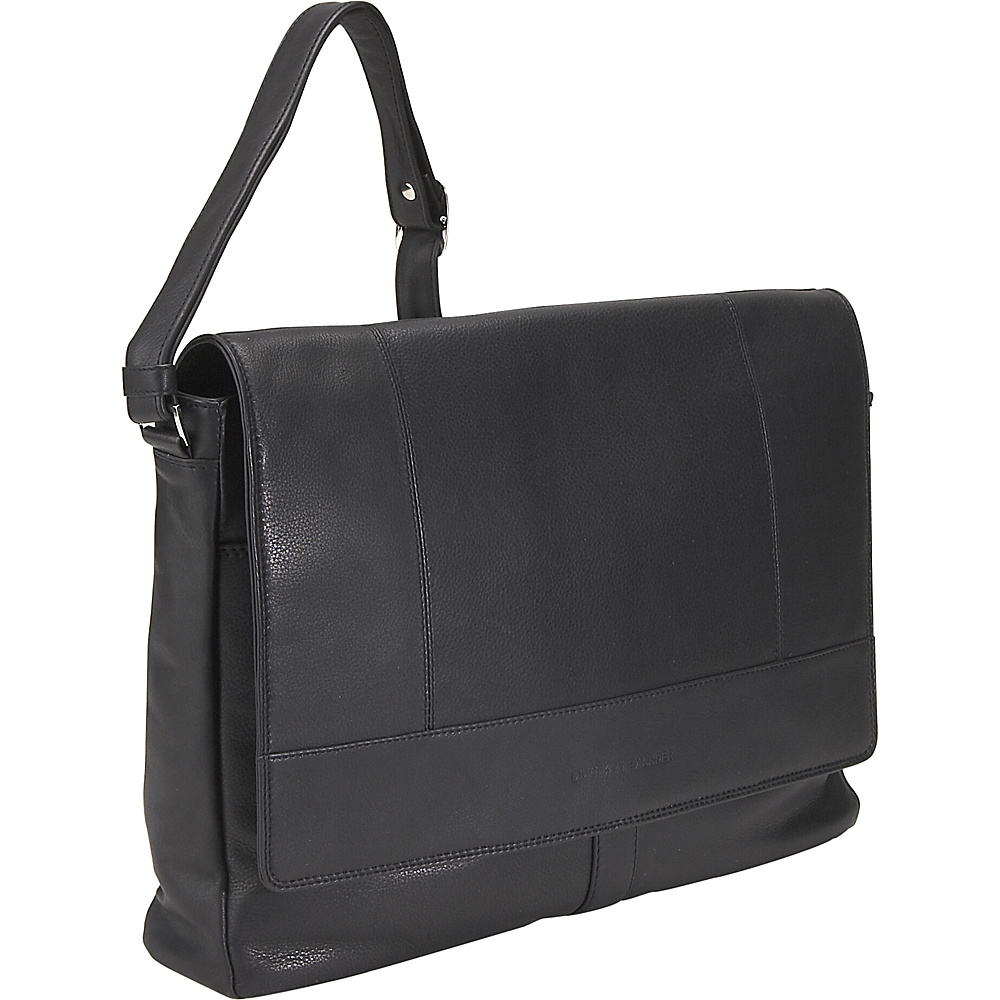Derek Alexander Half Flap Multi Pocket Business Case - - Work Bags & Briefcases, Messenger Bags