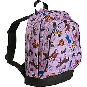 Purple English Riding Sidekick Backpack English Riding