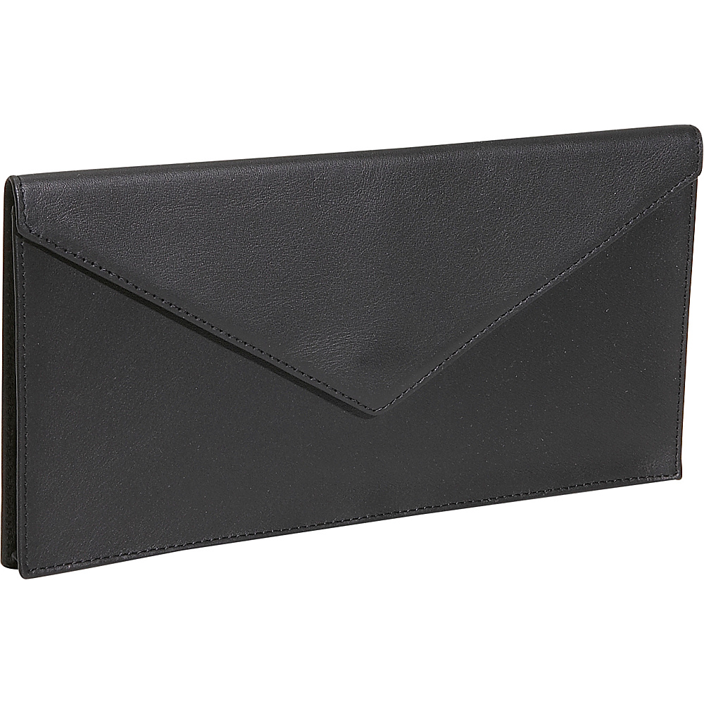 Royce Leather Legal Document Envelope - Black - Work Bags & Briefcases, Business Accessories