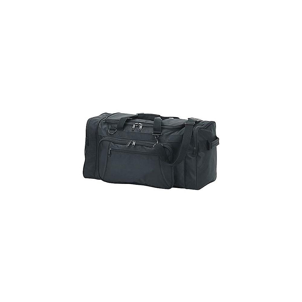 Netpack 24 Ballistic Nylon Cargo Duffel - Black - Duffels, Travel Duffels