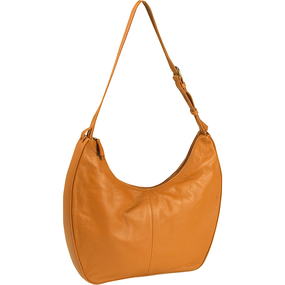 J. P. Ourse & Cie. Bank Large - Tangerine - Handbags, Leather Handbags