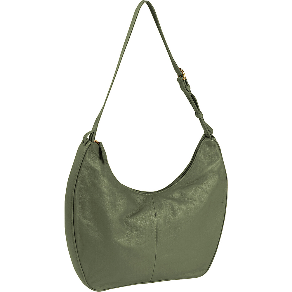 J. P. Ourse & Cie. Bank Large - Sage - Handbags, Leather Handbags