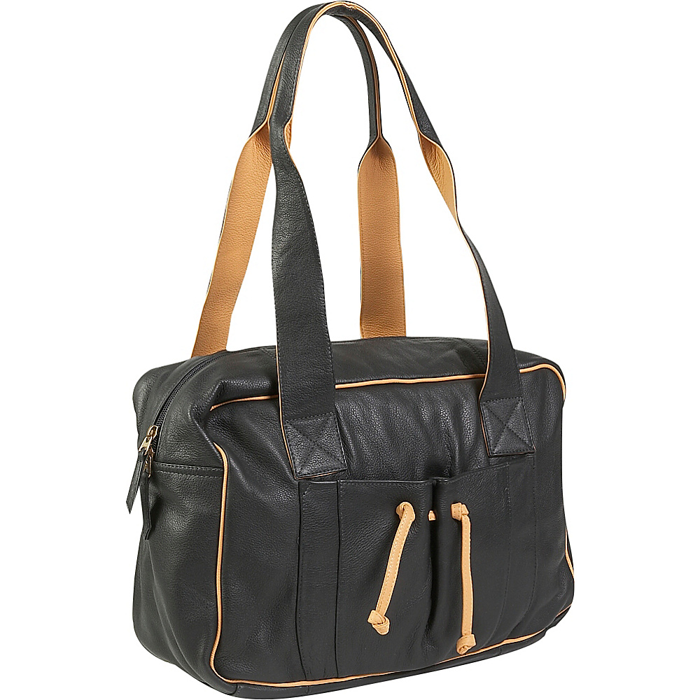 J. P. Ourse Cie. Duffle Weekender Black Butter