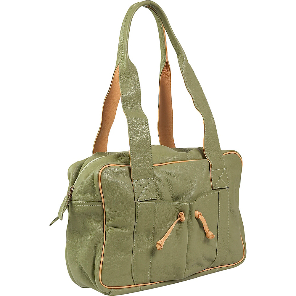 J. P. Ourse & Cie. Duffle Weekender - Kiwi/Butter - Luggage, Luggage Totes and Satchels