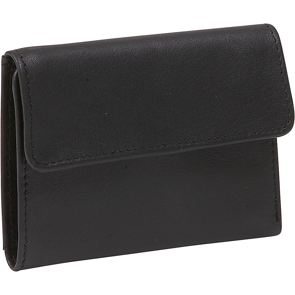 Derek Alexander European Style Mini Billfold - Black - Women's SLG, Women's Wallets