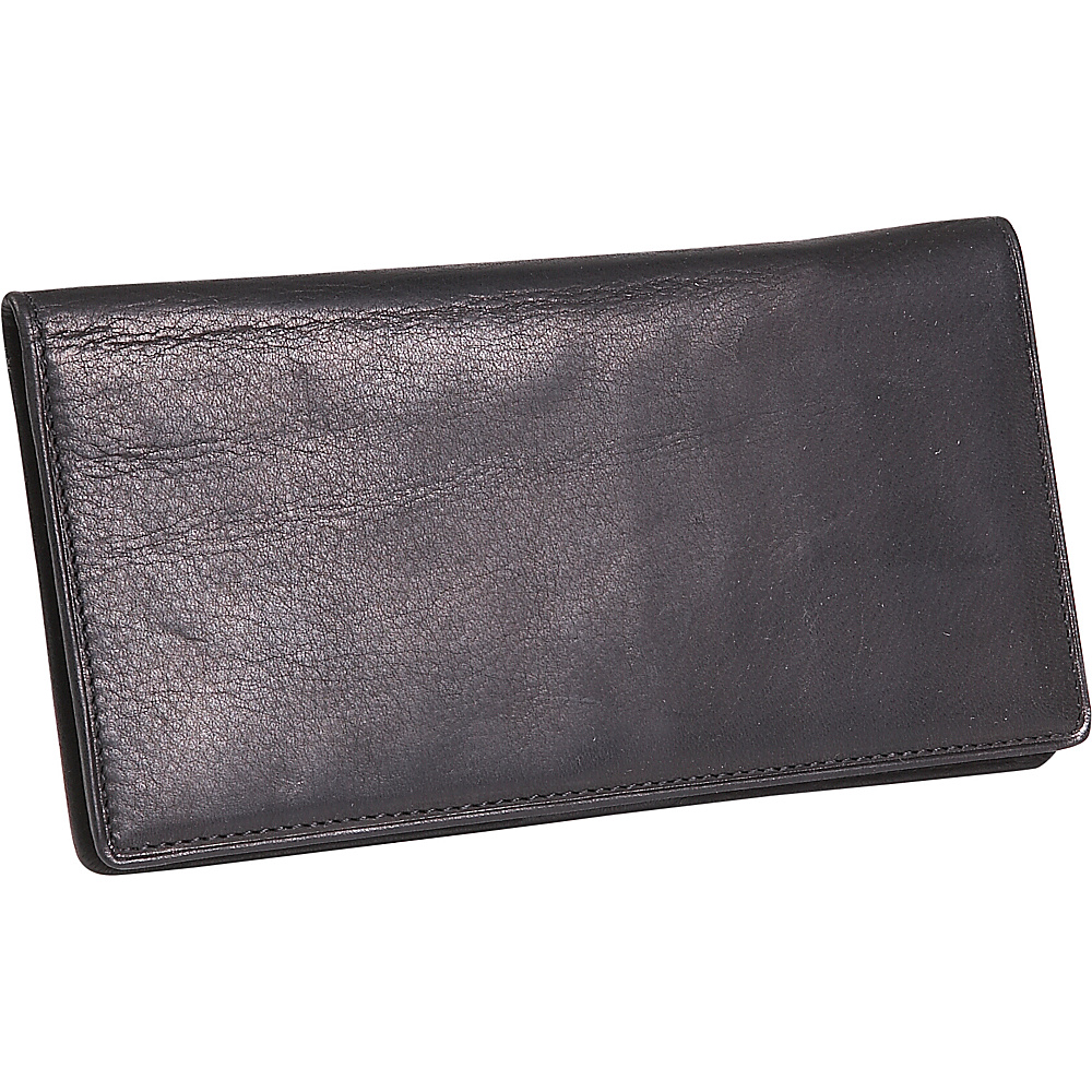Osgoode Marley Cashmere Delux Checkbook Cover - Black - Women's SLG, Women's Wallets