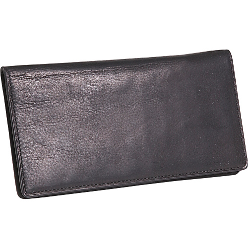 Osgoode Marley Cashmere Delux Checkbook Cover Black