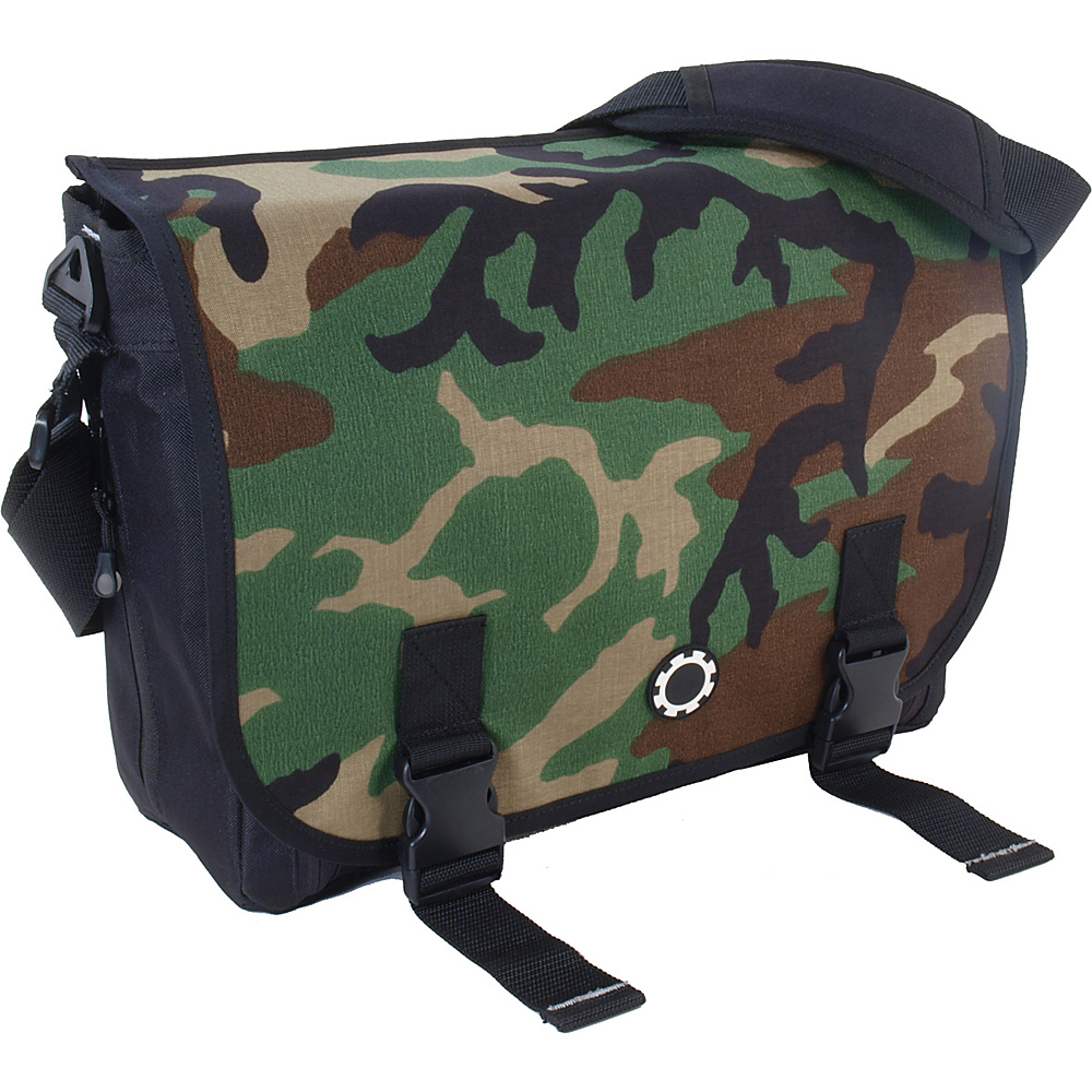 DadGear Messenger Basic Camo - Camo - Handbags, Diaper Bags & Accessories