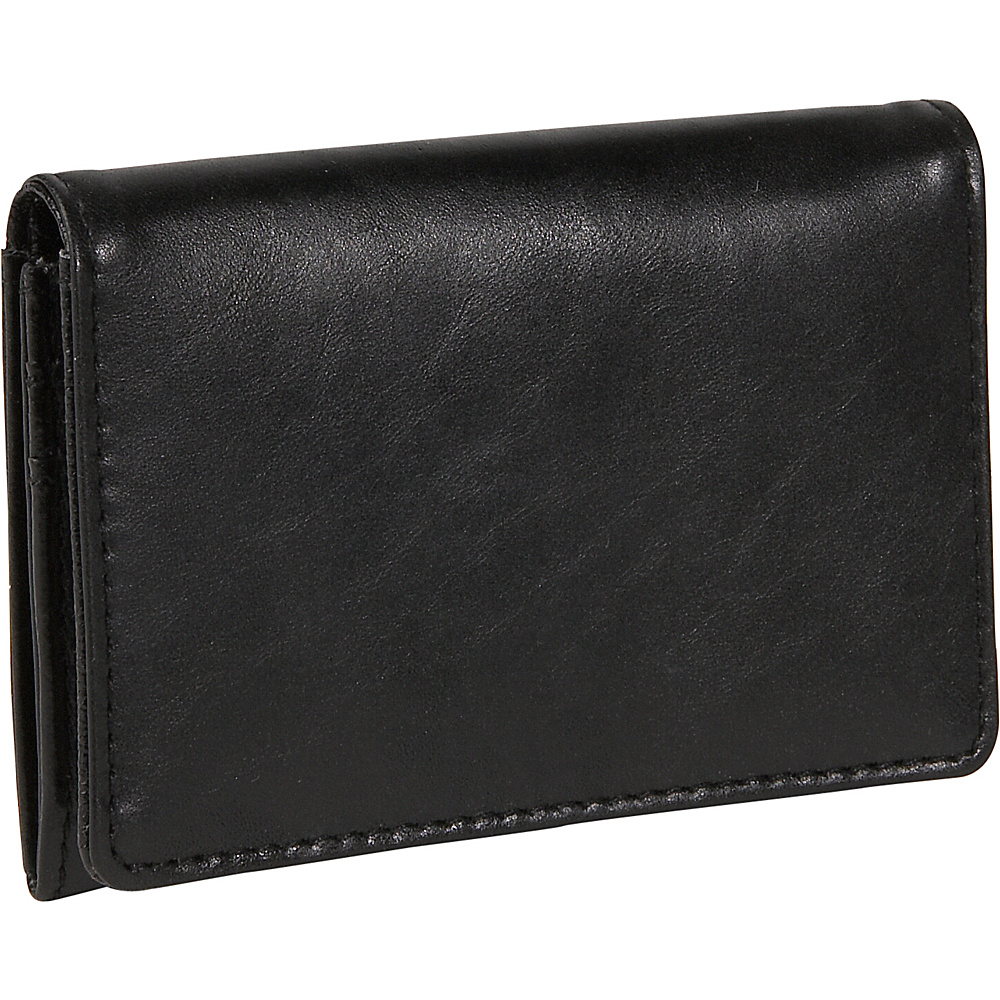 Budd Leather Distressed Leather Credit Card Case