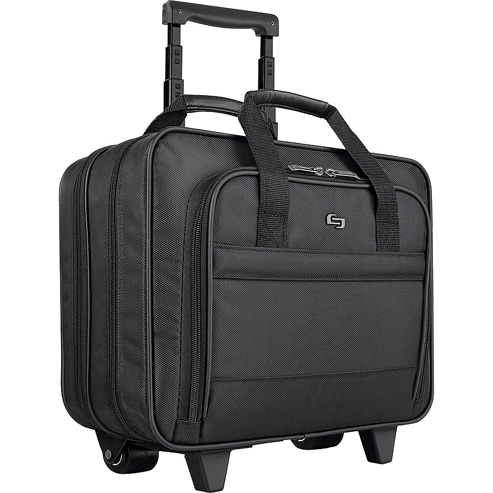 SOLO Rolling Computer Case Black