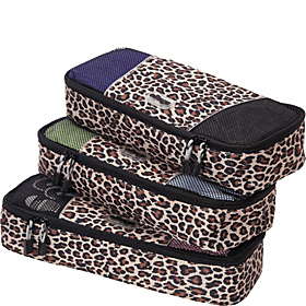 Slim Packing Cubes - 3pc Set Leopard