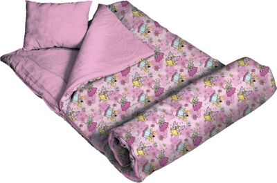 Wildkin Fairies 66 inch Sleeping Bag - Fairies