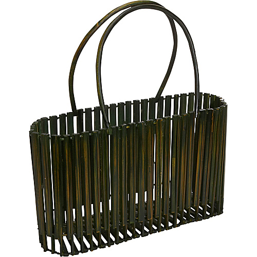 Global Elements Collapsible Bamboo Handbag