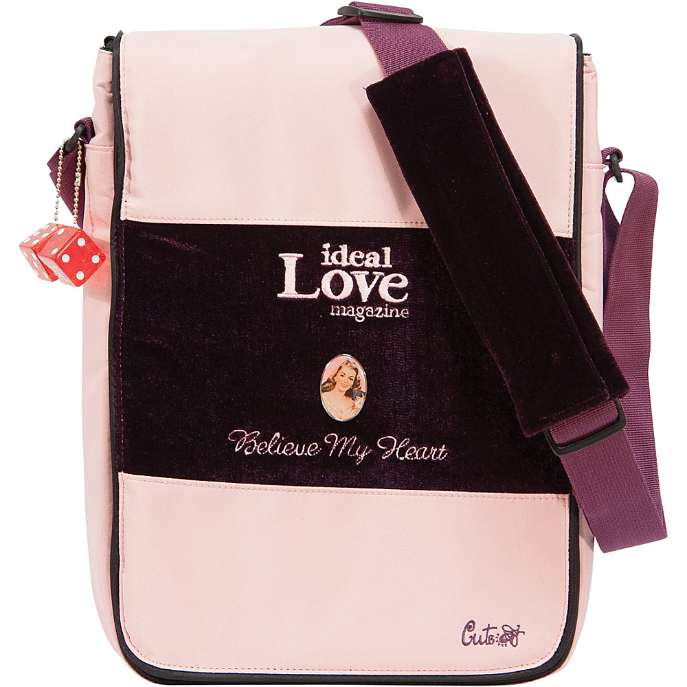 Mobile Edge Maddie Powers CuteBug 14.1PC / 15 MacBook - Work Bags & Briefcases, Messenger Bags