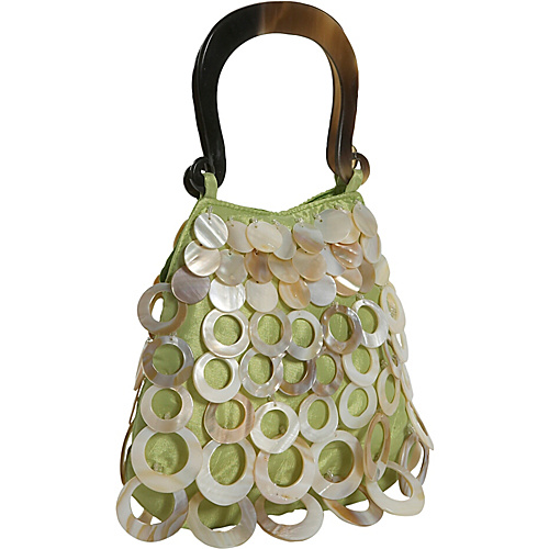 Global Elements Small Shell and Silk Handbag