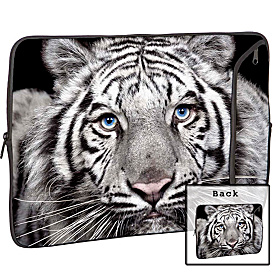 13'' Designer Laptop Sleeve Tiger Eyes