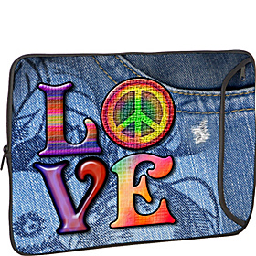 13'' Designer Laptop Sleeve LOVE