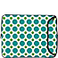 Polka Dots:Green & Teal - $30.99