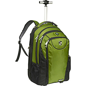 ePac05 Rolling Laptop Backpack Green