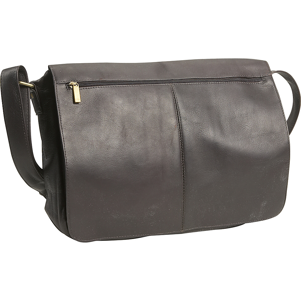 David King & Co. East/West Full Flap Messenger - Cafe - Work Bags & Briefcases, Messenger Bags