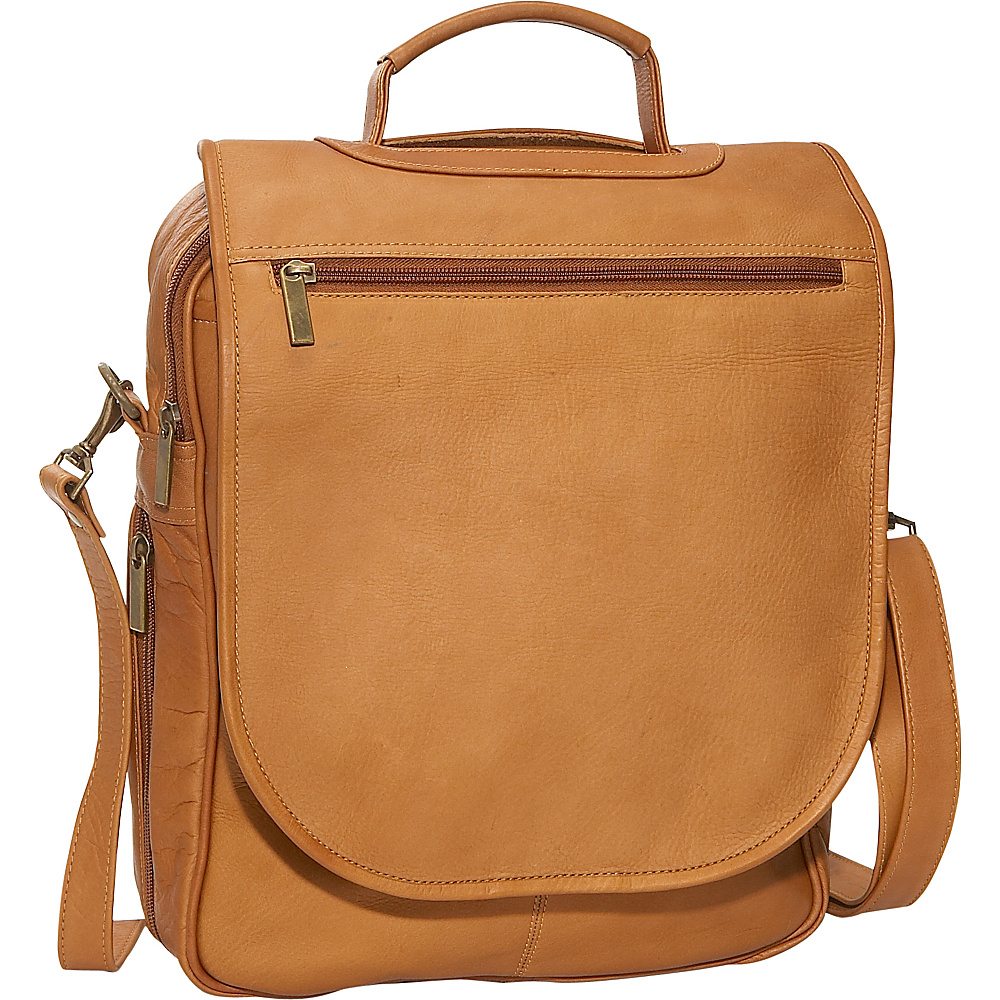 David King & Co. Expandable Vertical Portfolio - Tan - Work Bags & Briefcases, Non-Wheeled Business Cases