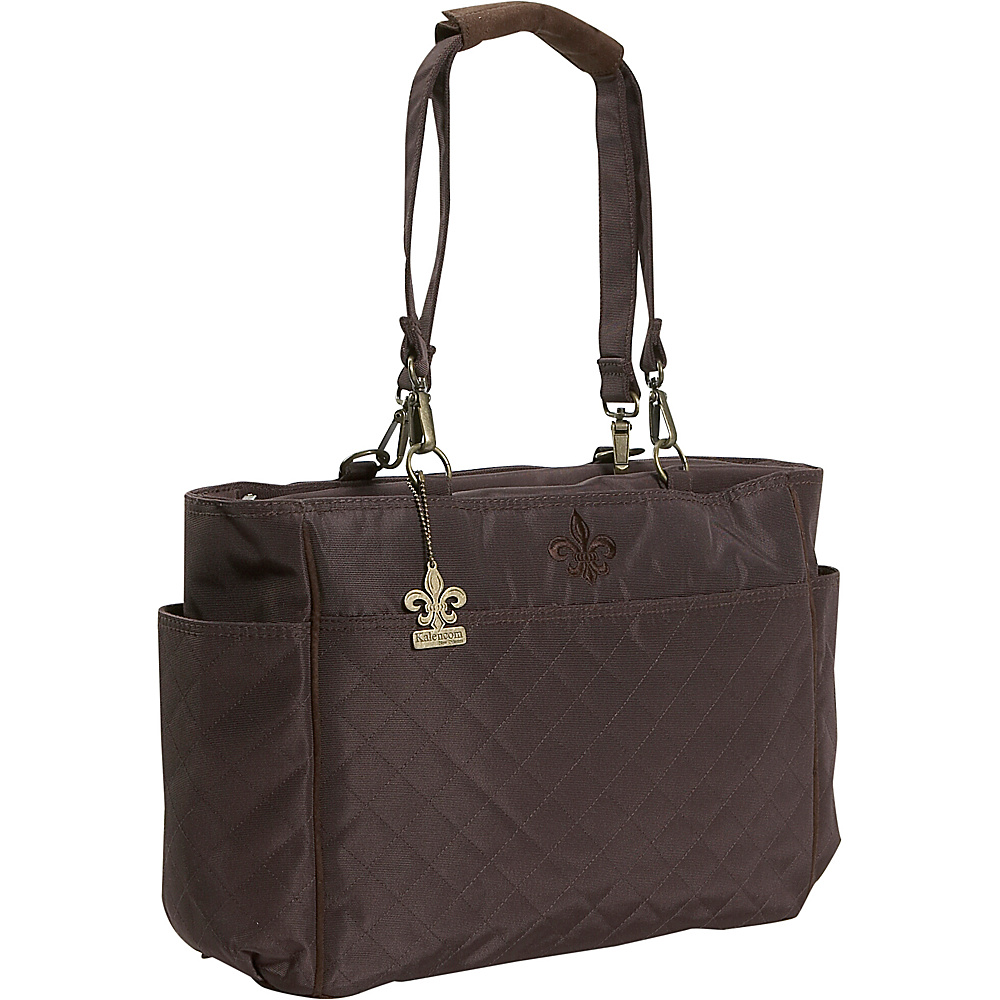 Kalencom NOrleans Tote - Chocolate - Handbags, Diaper Bags & Accessories