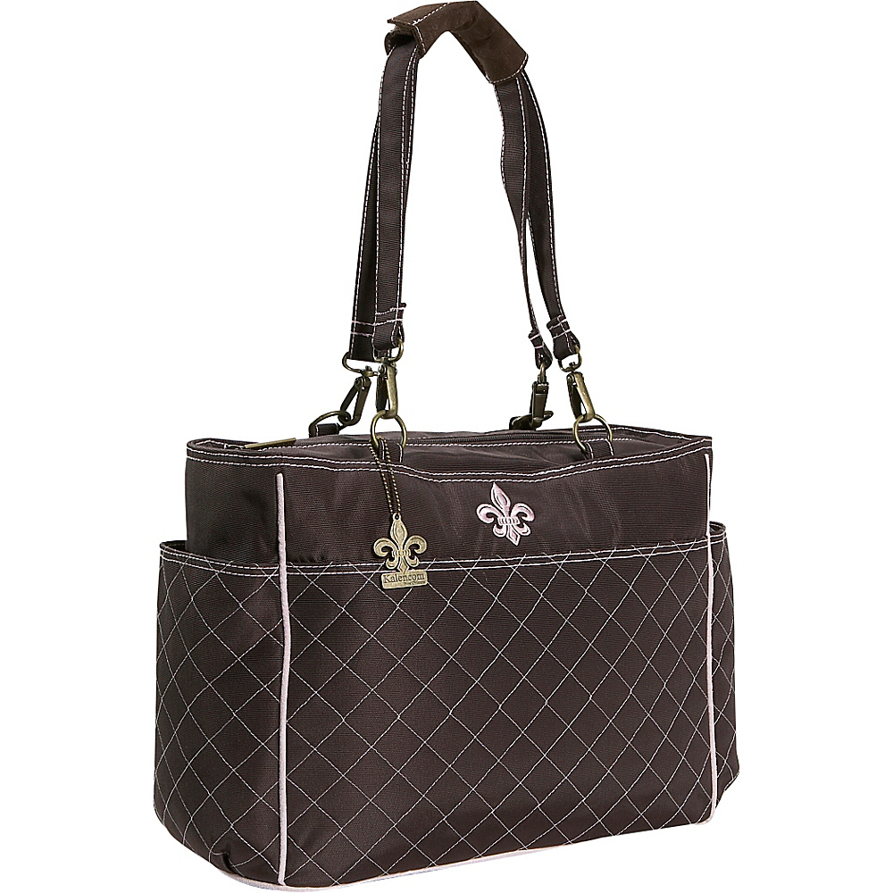 Kalencom NOrleans Tote - Chocolate/Pink - Handbags, Diaper Bags & Accessories