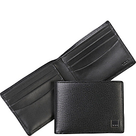 Monaco Double Billfold Black