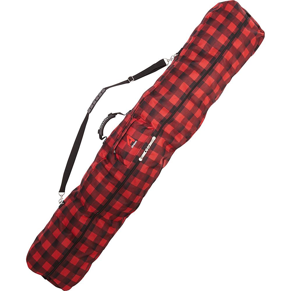 Athalon Otis Snowboard Bag Lumberjack - Athalon Ski and Snowboard Bags