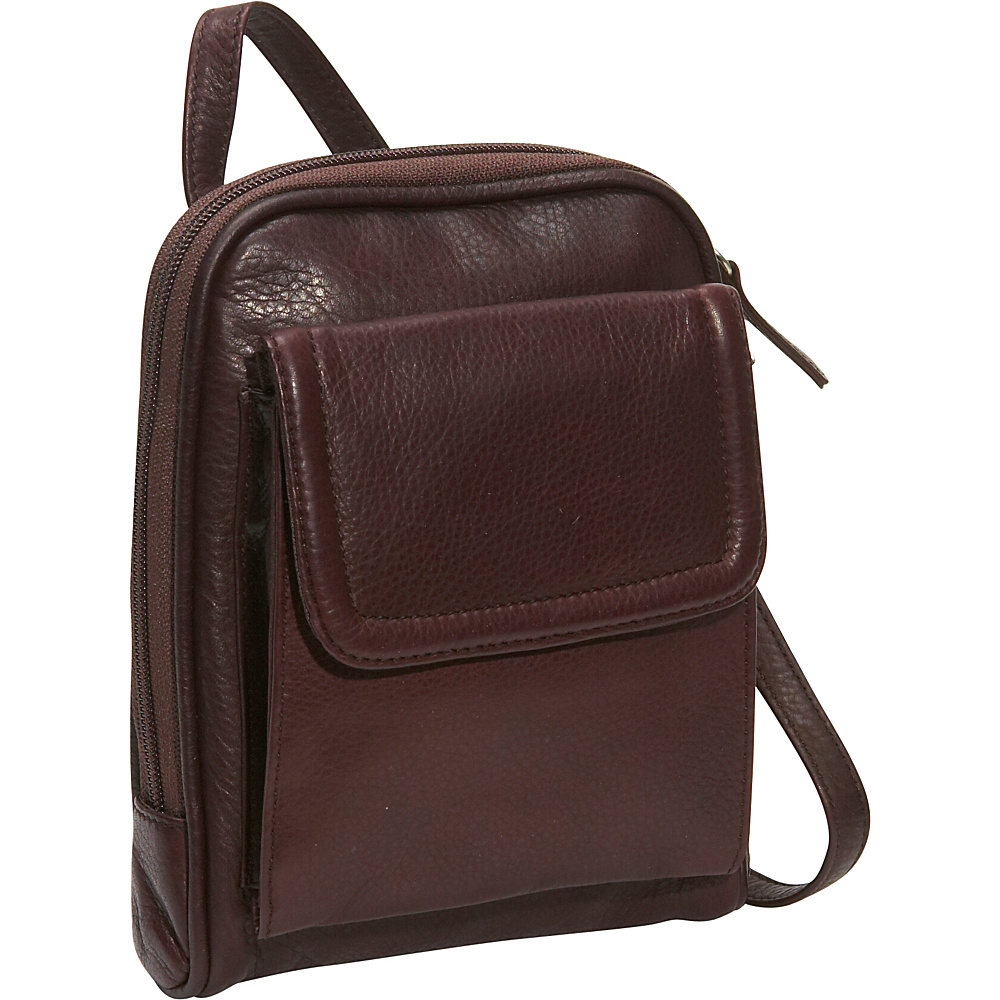 Osgoode Marley Mini Organizer Bag Raisin