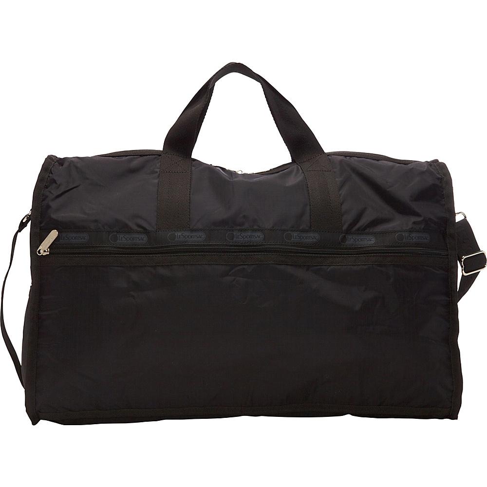 LeSportsac Large Weekender Travel Duffel Bag Black - LeSportsac Travel Duffels